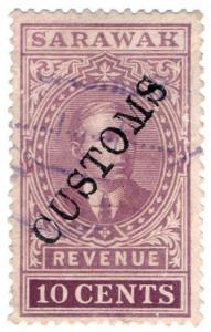 (I.B) Sarawak Revenue : Customs 10c