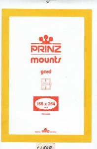 PRINZ 156X264 (4) CLEAR MOUNTS RETAIL PRICE $10.50