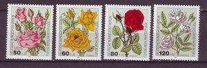J24975 JLstamps 1982 germany berlin set mnh #9nb193-6 flowers