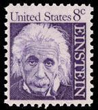 1285 Albert Einstein F-VF MNH single