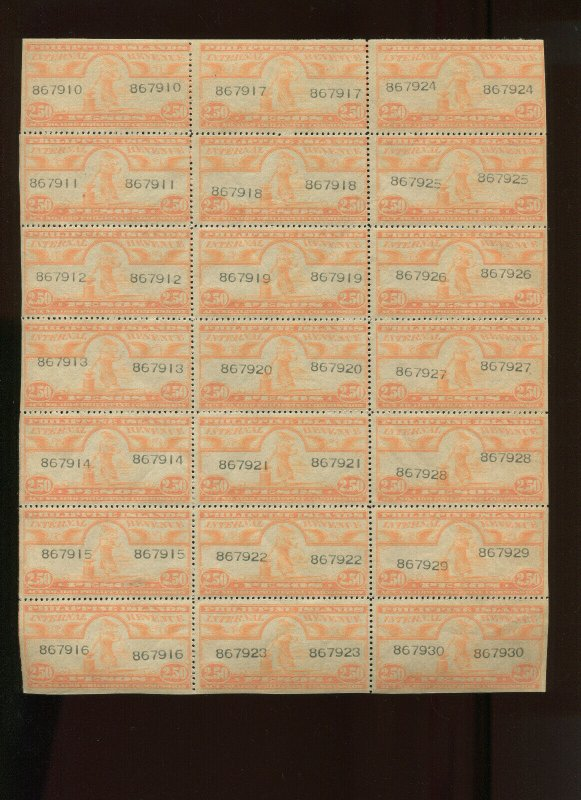 Philippines PI W-622 Perf 10 INTERNAL REVENUE MINT SHEET OF 21 STAMPS NH CV $210