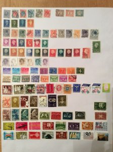 Dutch 100+ stamps - Lot B