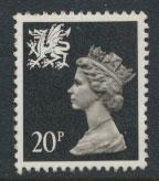 Great Britain Wales  SG W52 SC# WMMH38 Used  see details phosphorised paper