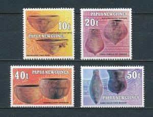 Papua New Guinea MNH 558-61 Pottery 1982