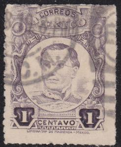 Mexico 608 Hinged Used 1917 Ignacio Zaragoza