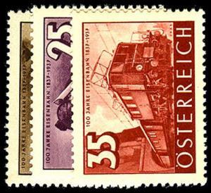 AUSTRIA 385-87  Mint (ID # 41877)