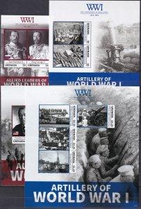 Grenada #4001-4  MNH CV $34.50 (Z5906L)