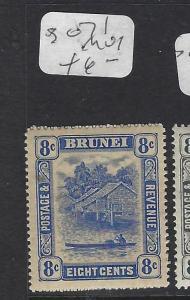 BRUNEI  (P1005BB)  RIVER SCENE  8C  SG 71   MOG