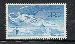 Ireland Sc C2 1948 3d Angel over Lough Derg Airmail stamp mint