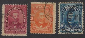 HAITI 166-68 USED BIN $1.00 PERSON