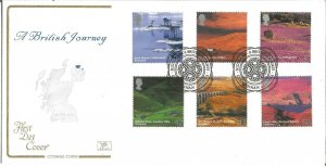 A British Journey Scotland 2003 Cotswold Covers First Day Cover Special PM W109