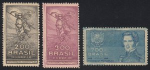 Brazil - 1935 - SC 407-09 - LH - Short set