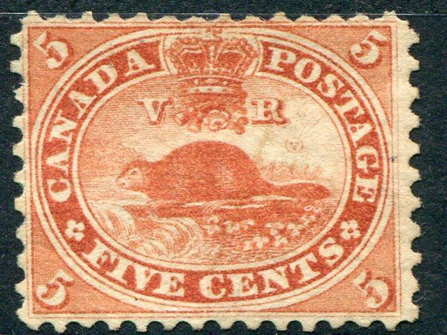 Canada #15 Unused  F-VF  Lakeshore Philatelics