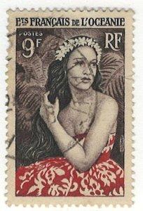 French Polynesia Scott 180 Used!
