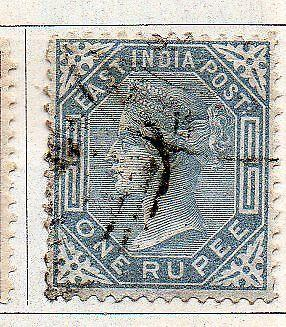 INDIA- 1874- sg no 79 w/m  elph  fine used cv 38gbp ( app 3800.00rs )
