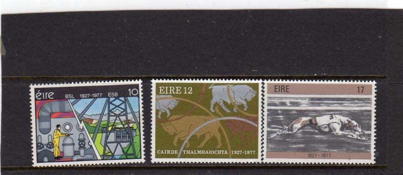 Ireland 1977 Anniiv of Electricity Supply Board MNH