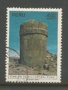 Peru    #C351  Used  (1972)