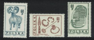 Poland Polish Archaeological Research 3v SG#1706-1708