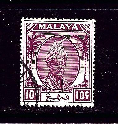 Malaya-Pahang 56 Used 1950 issue