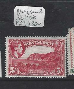 MONTSERRAT   (PP1303B)  KGVI  5/-  SG 110A    MOG