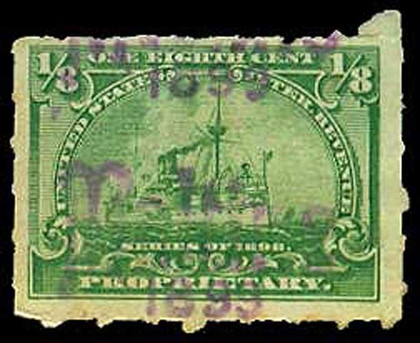 U.S. REV. PROPRIETARY RB20  Used (ID # 34642)