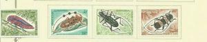 LAOS 1974 SCOTT 253-5 AND C119 MH