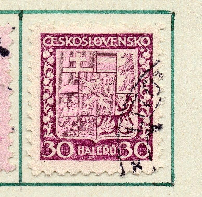 Czechoslovakia 1929 Early Issue Fine Used 30h. 230267