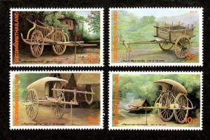 Thailand MNH 1463-6 Carts