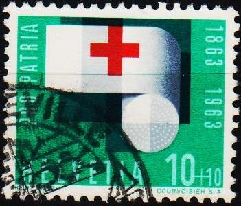 Switzerland.1963 10c+10c S.G.677 Fine Used