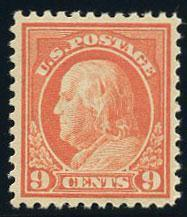 US Scott #509 Mint XF; Never Hinged