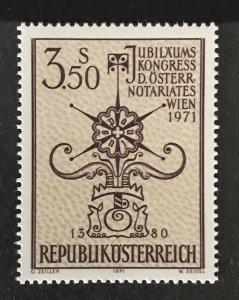 Austria 1971 #897, MNH, CV $.55