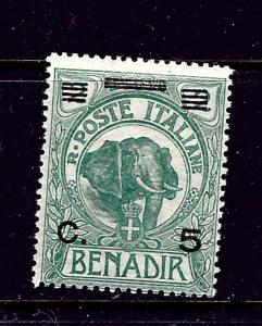Somalia 11 MH 1906 surcharge