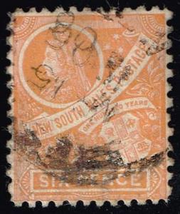 Australia-NSW #114 Queen Victoria; Used (6.00)