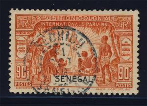 SENEGAL - 1932 - CACHET À DATE DE SEDHIOU SUR 90c EXPO COLONIALE (Yv.112)