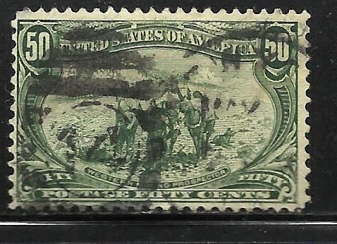 United States 1898 Scott # 291 Used