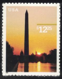 US Stamp Scott #3473 Mint NH Washington Monument Express Mail