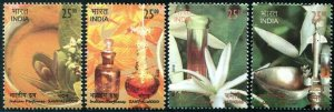 HERRICKSTAMP NEW ISSUES INDIA Sc.# 3125-28 Perfumes (Scented)