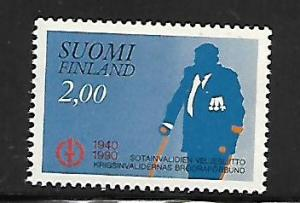 FINLAND, 813 ,MINT HINGED, DISABLED VETERANS