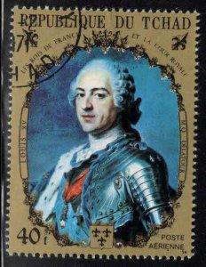 Chad TCHAD Scot 232 Aab Used CTO stamp