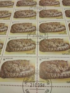 (MNH)Kazakhstan 20  stamp sheet ( pre cancelled)