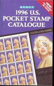 Scott 1996 U.S. Pocket Stamp Catalogue,