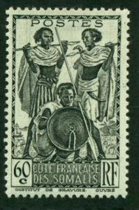 Somali Coast 1940 #160 MH SCV(2018)=$0.70