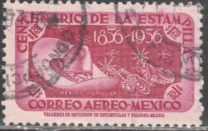 MEXICO C233, $1.20P Centenary of 1st postage stamps. USED. VF. (618)