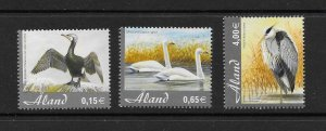 BIRDS - ALAND #230-2  MNH