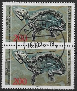 Germany 1978 wonderful pair , high value used