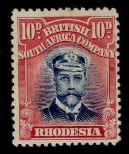 RHODESIA SG231, 10d black and carmine-red, M MINT. Cat £32.