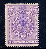Costa Rica Scott # 37a, used