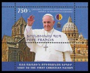 2016 Karabakh Republic 122/B14 Visit of Pope Francis