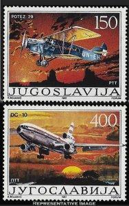 Yugoslavia Scott 1838-1839 Mint never hinged.
