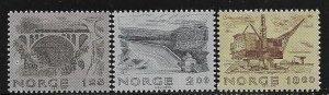 12486 Norway 750 - 752 mnh 2017 SCV $6.60